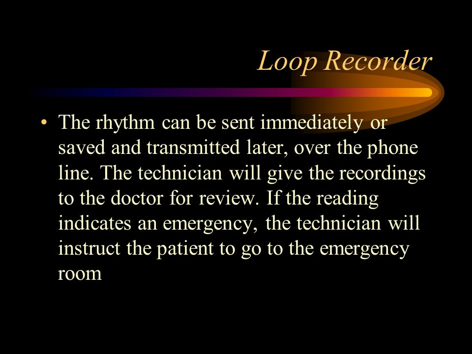 Loop Recorder