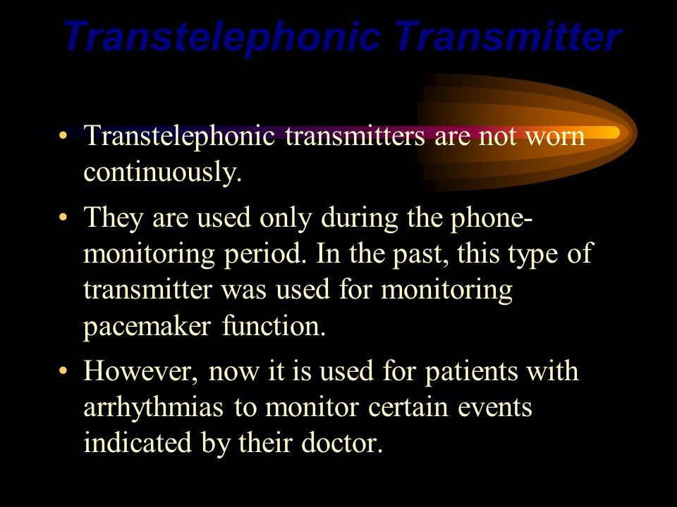 Transtelephonic Transmitter