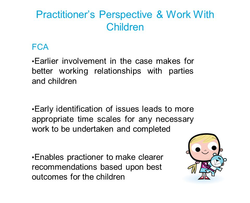 Practitioner's Perspective & Work With Children