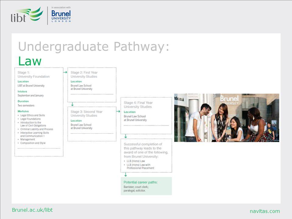 Undergraduate Pathway: Law