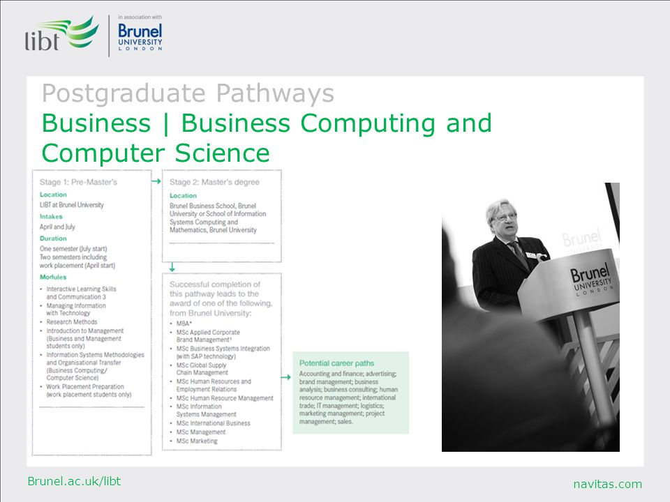 Postgraduate Pathways Business | Business Computing and Computer Science
