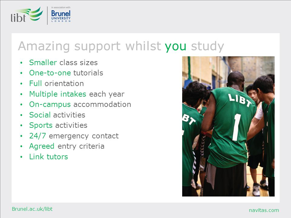 Amazing support whilst you study