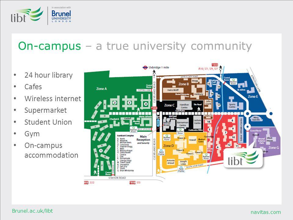 On-campus – a true university community