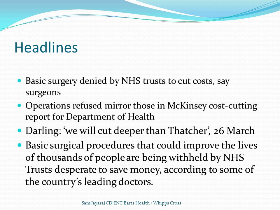 Headlines Darling: 'we will cut deeper than Thatcher', 26 March