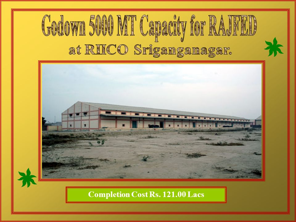 Godown 5000 MT Capacity for RAJFED