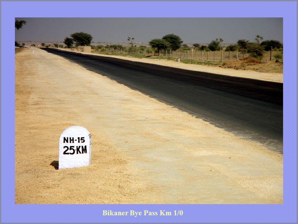 Bikaner Bye Pass Km 1/0