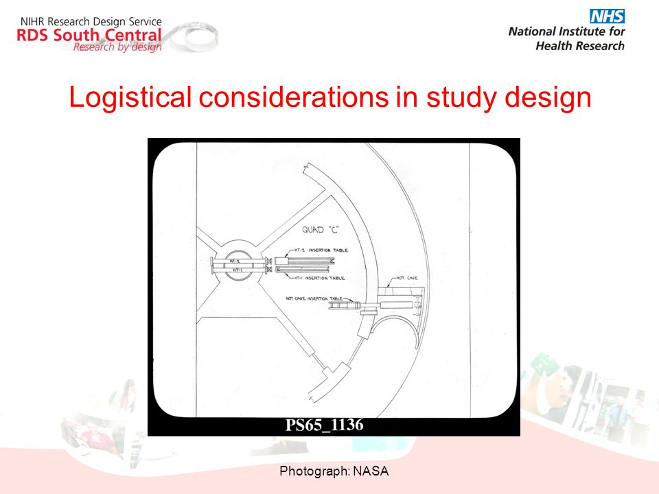 Logistical considerations in study design