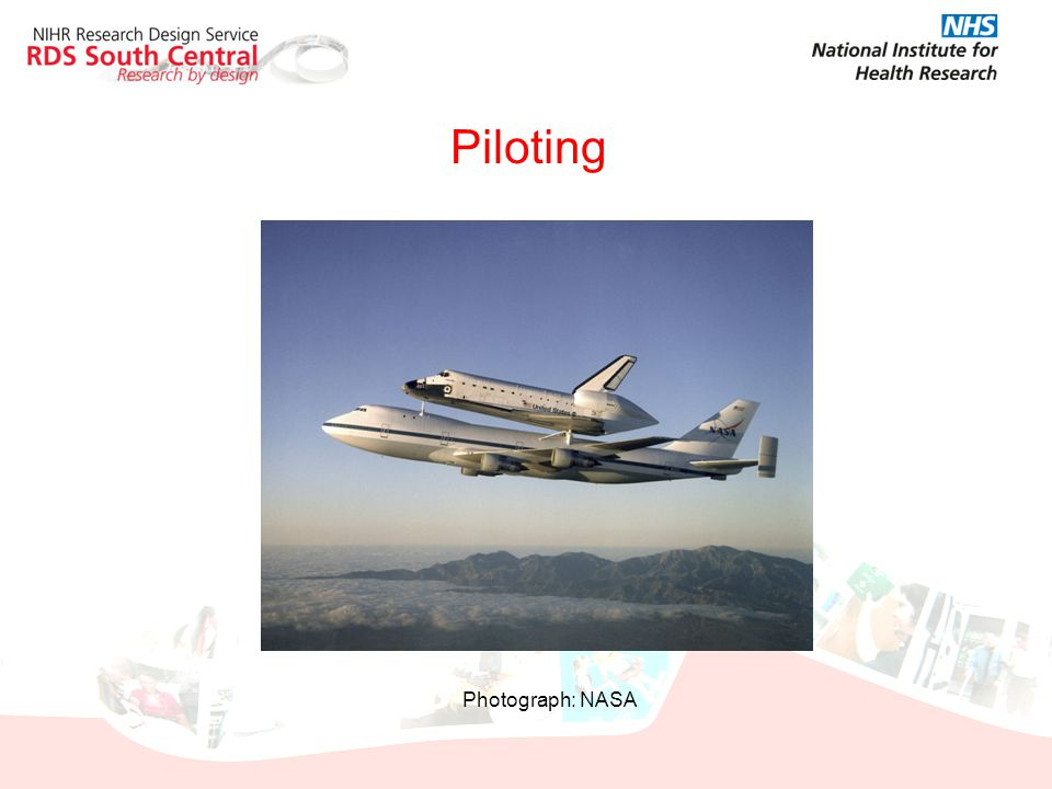 Piloting Photograph: NASA