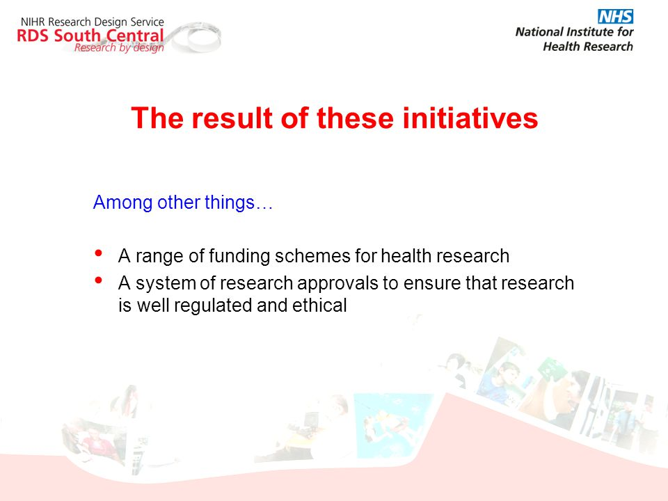 The result of these initiatives