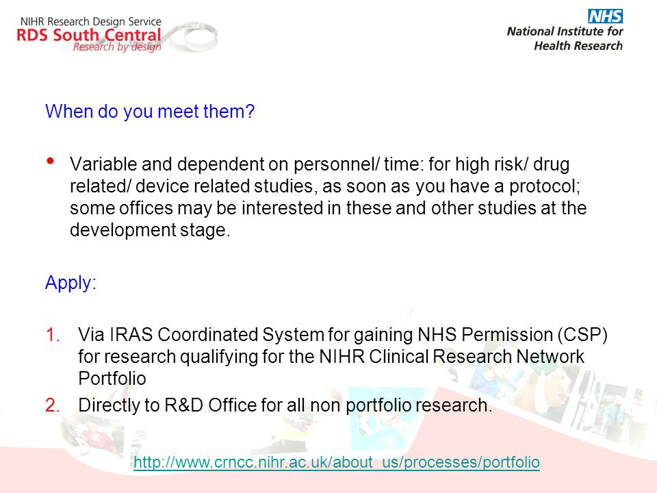 Directly to R&D Office for all non portfolio research.
