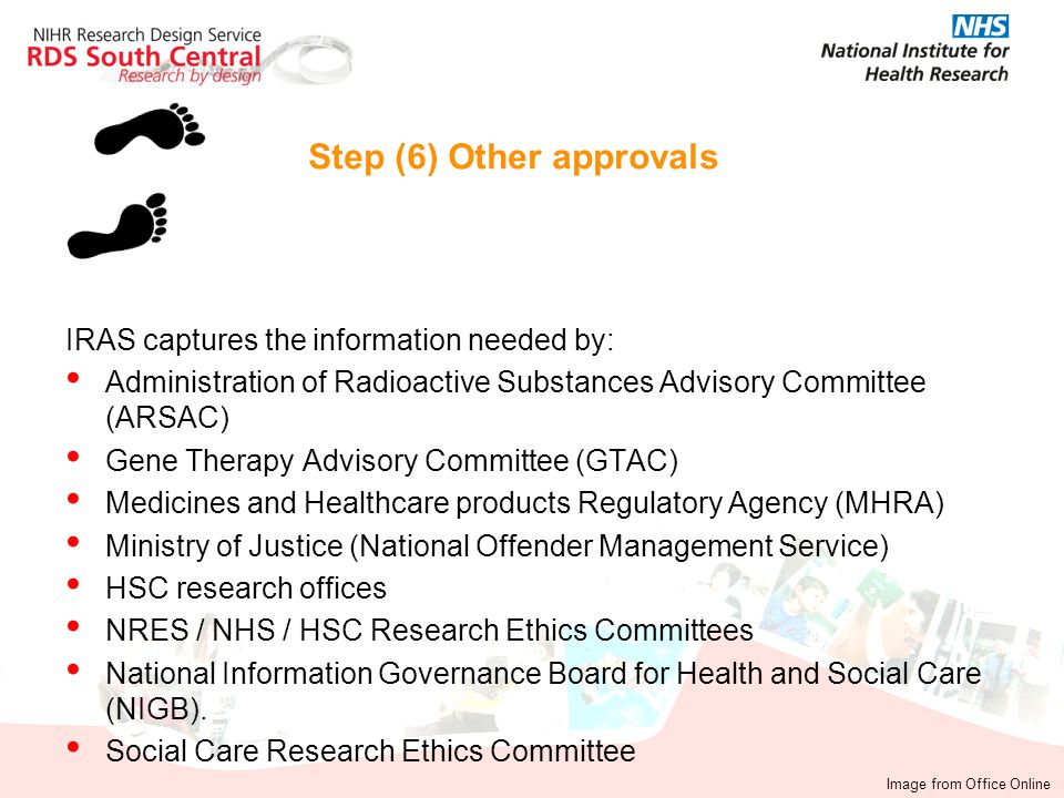 Step (6) Other approvals