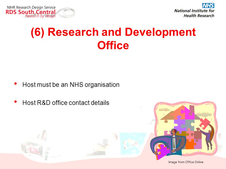 (6) Research and Development Office