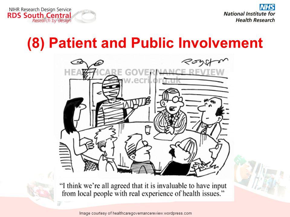 (8) Patient and Public Involvement