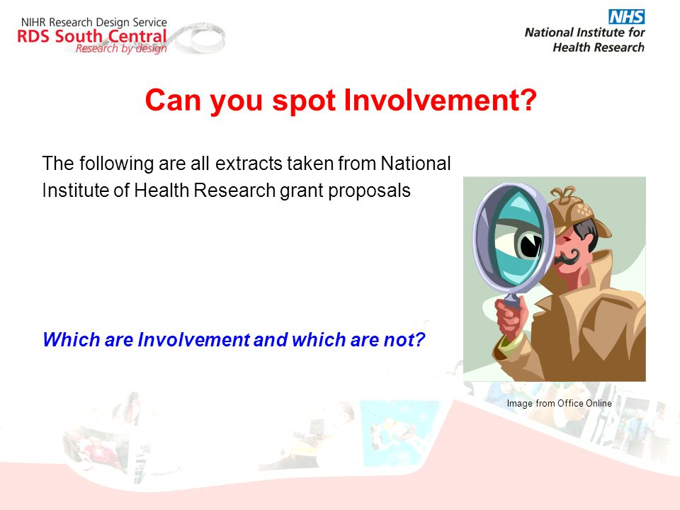 Can you spot Involvement