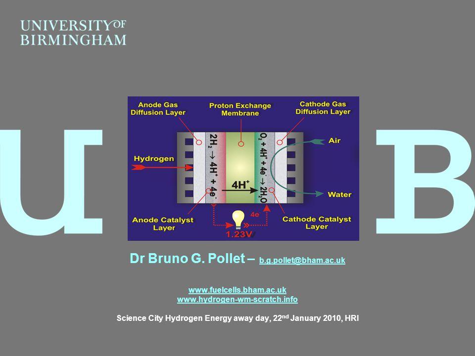 Dr Bruno G. Pollet – b.g.pollet@bham.ac.uk
