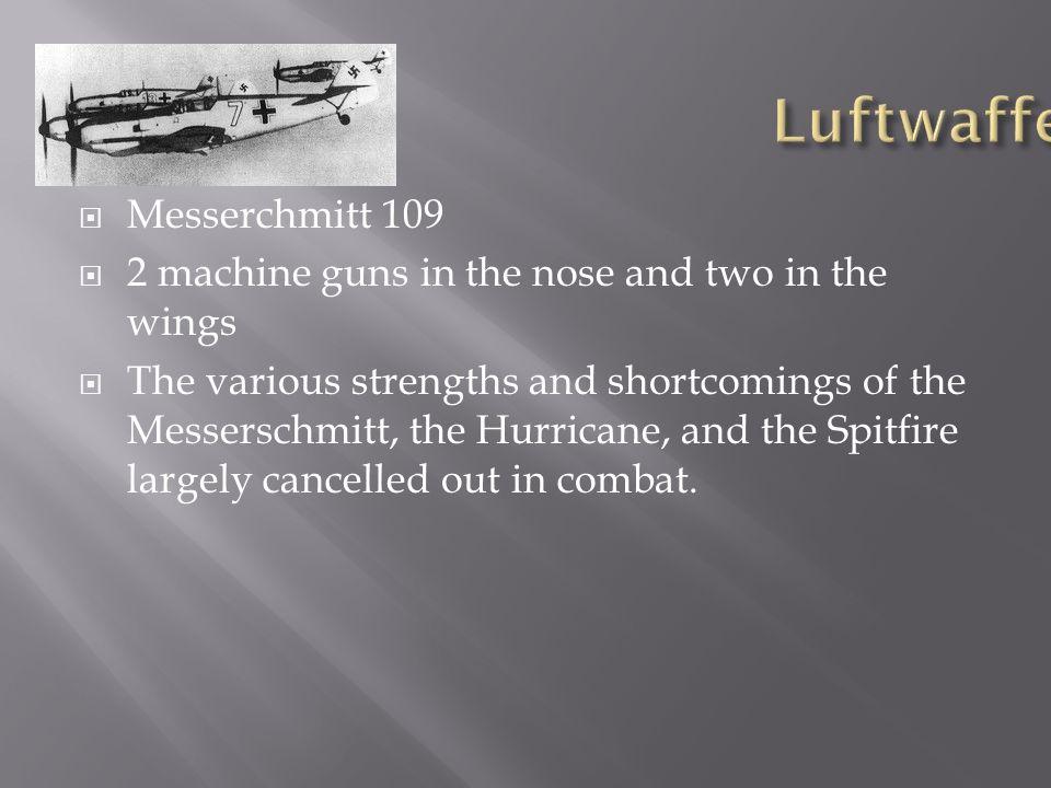 Luftwaffe Messerchmitt 109