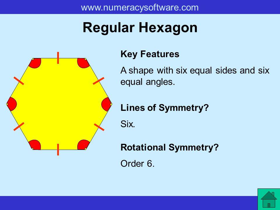 Regular Hexagon Key Features
