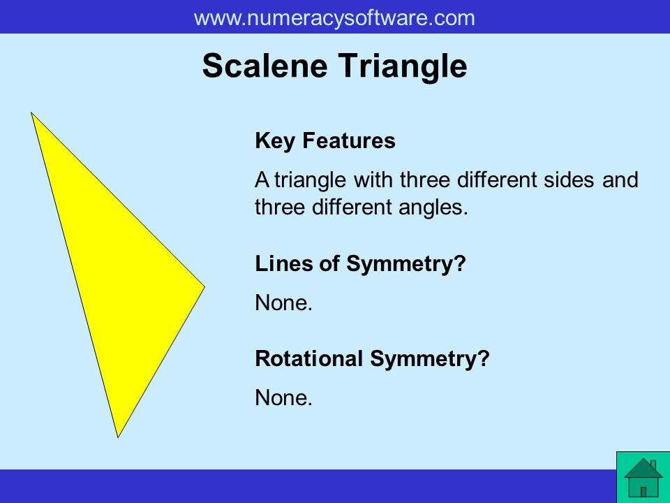 Scalene Triangle Key Features
