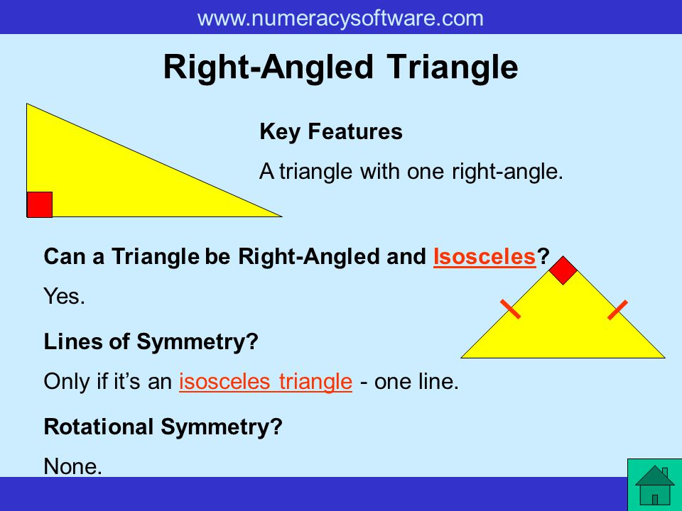 Right-Angled Triangle