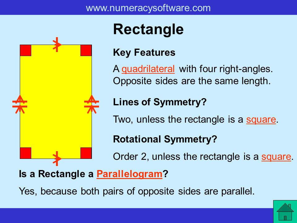 Rectangle Key Features