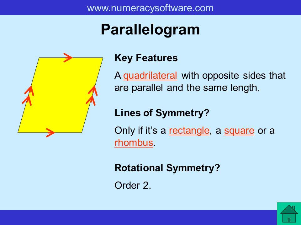 Parallelogram Key Features