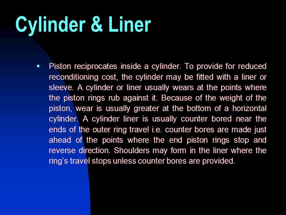 Cylinder & Liner