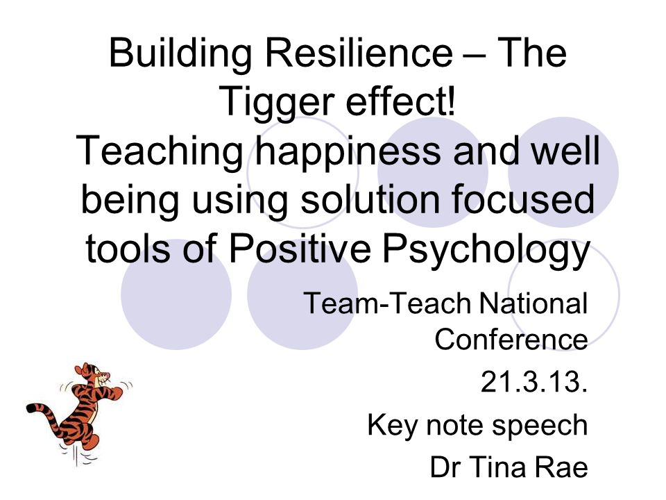 Team-Teach National Conference 21.3.13. Key note speech Dr Tina Rae