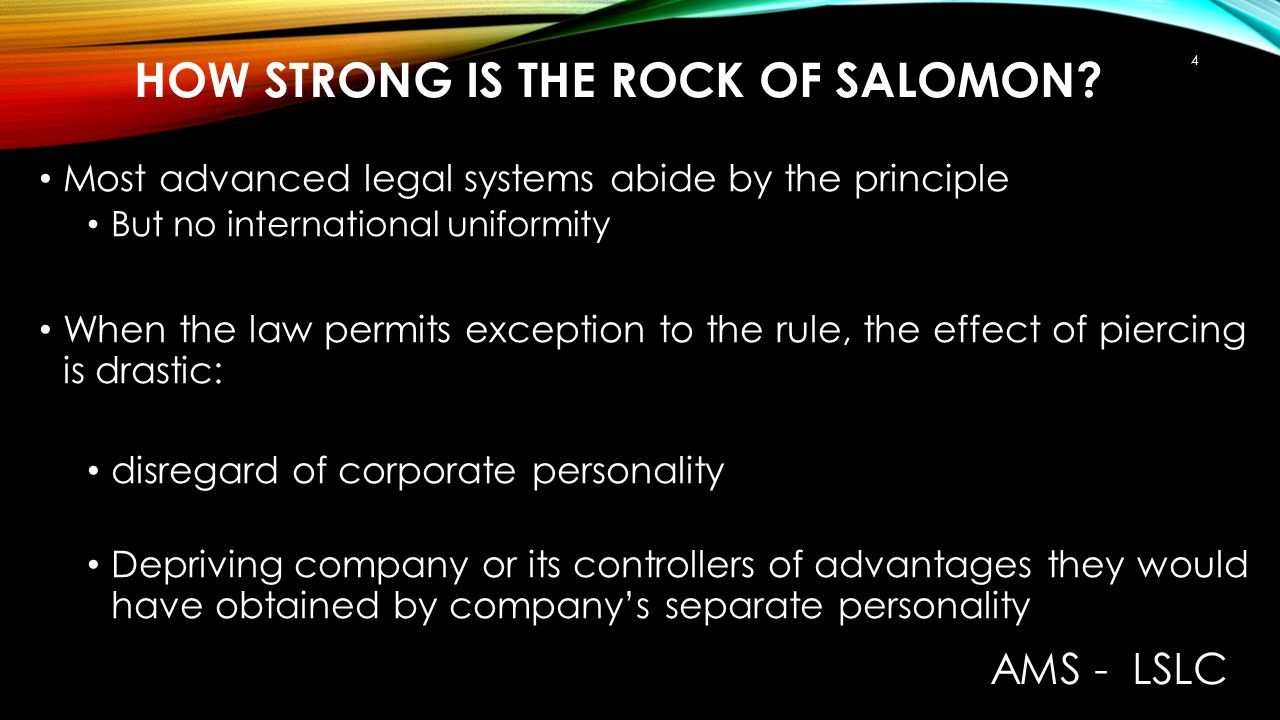 How strong is the rock of Salomon