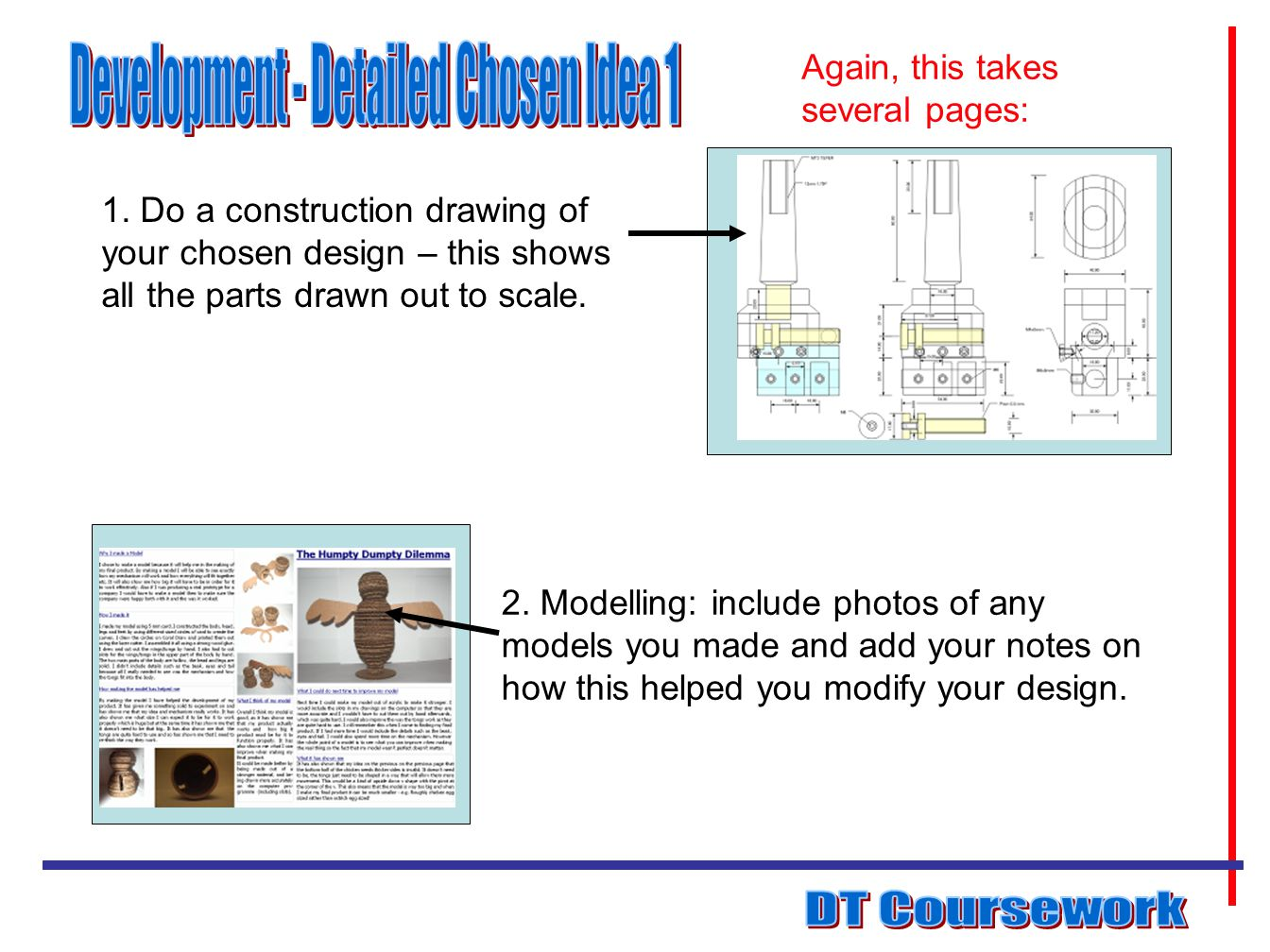 Development - Detailed Chosen Idea 1