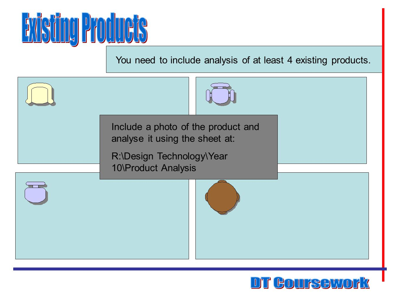 Existing Products DT Coursework