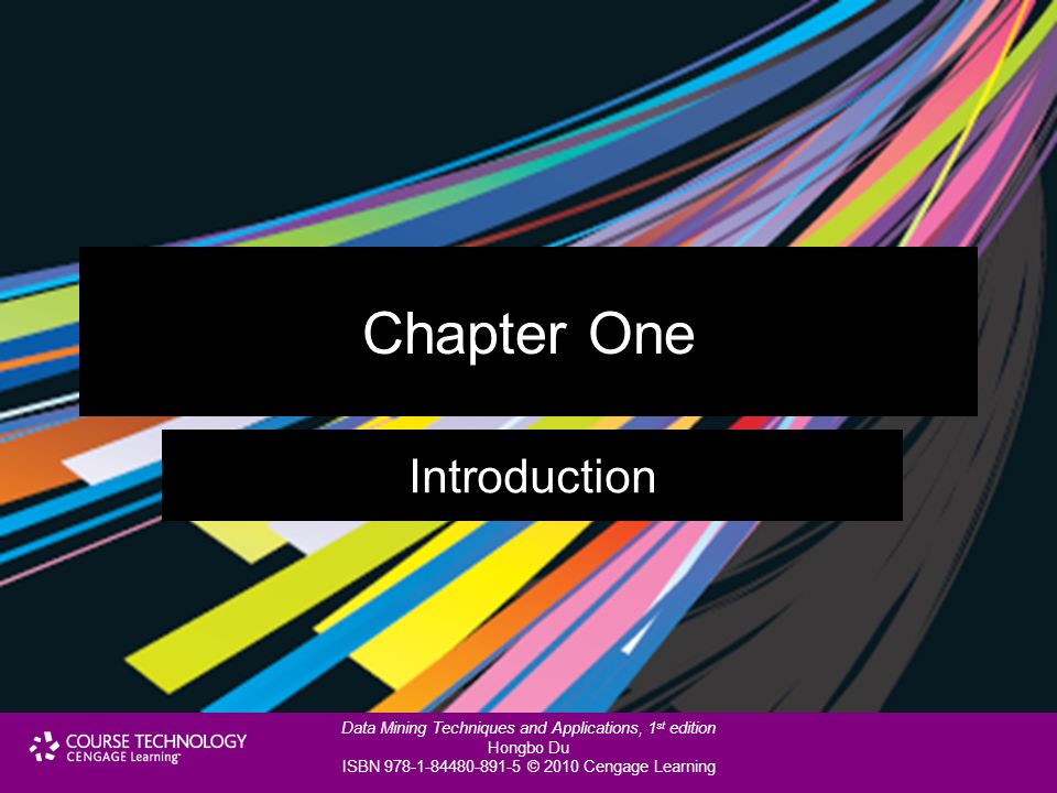 Chapter One Introduction