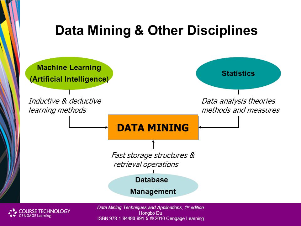 Data Mining & Other Disciplines