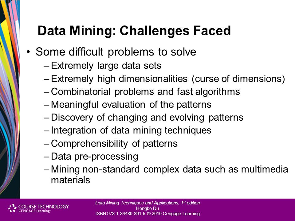 Data Mining: Challenges Faced