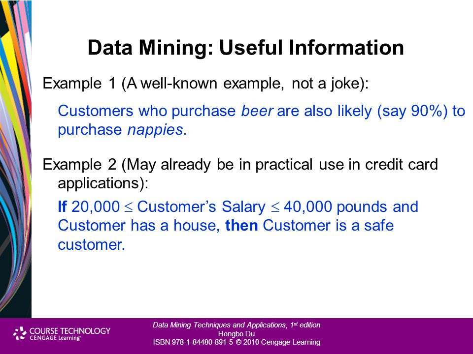 Data Mining: Useful Information
