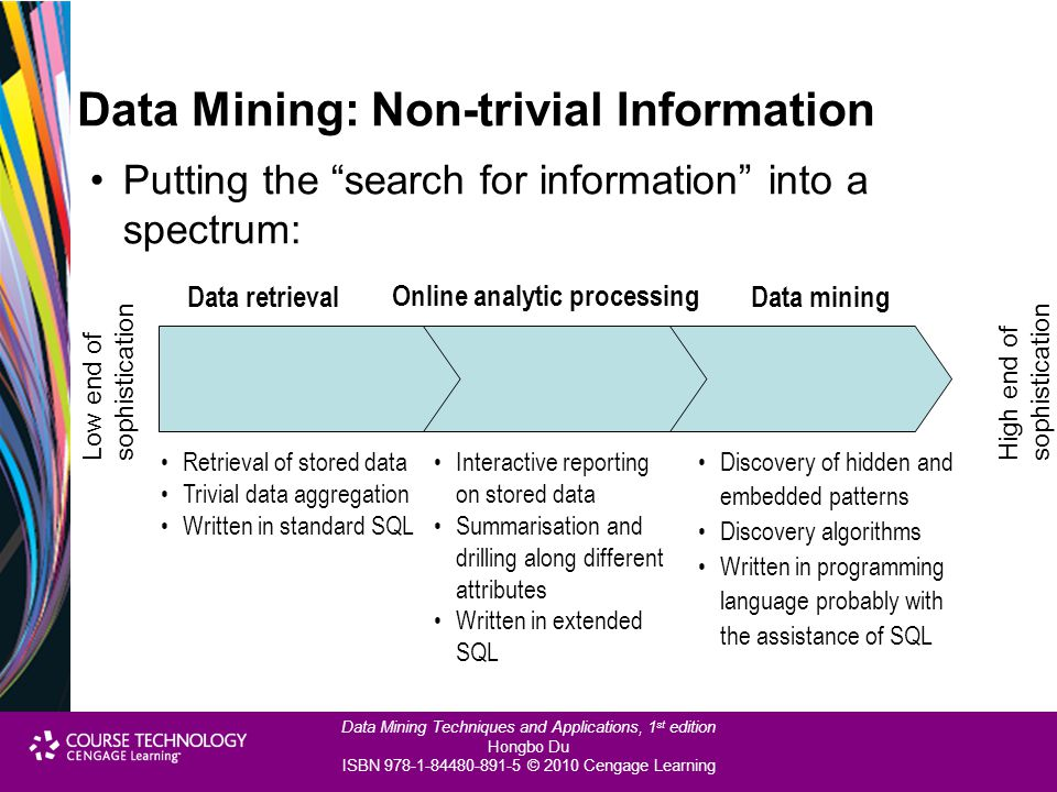 Data Mining: Non-trivial Information