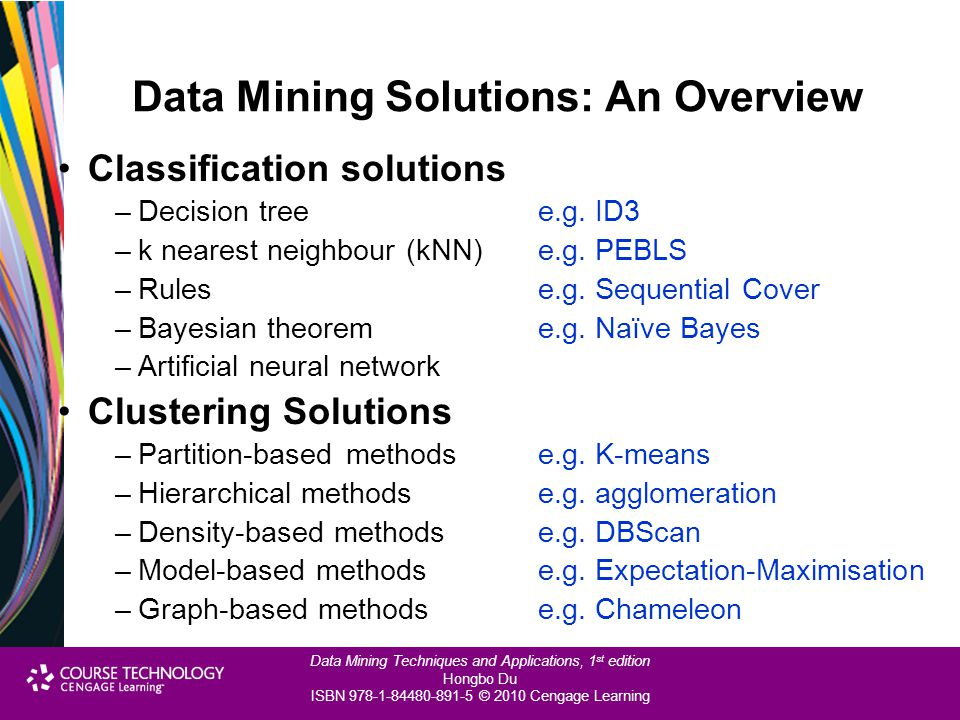 Data Mining Solutions: An Overview