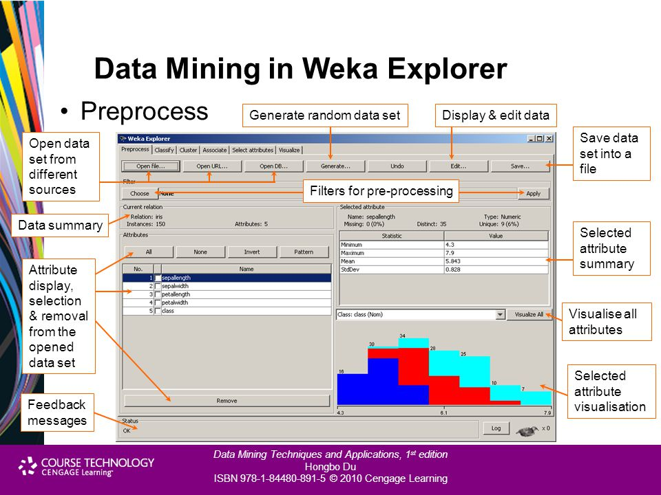 Data Mining in Weka Explorer
