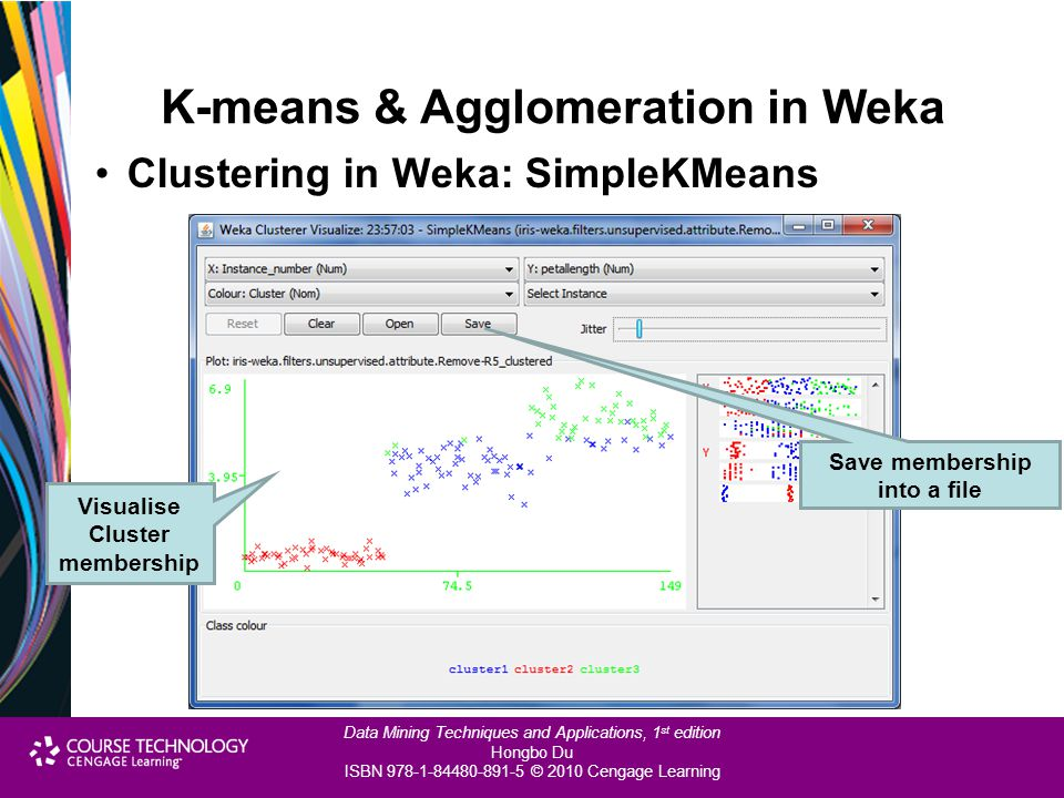 K-means & Agglomeration in Weka