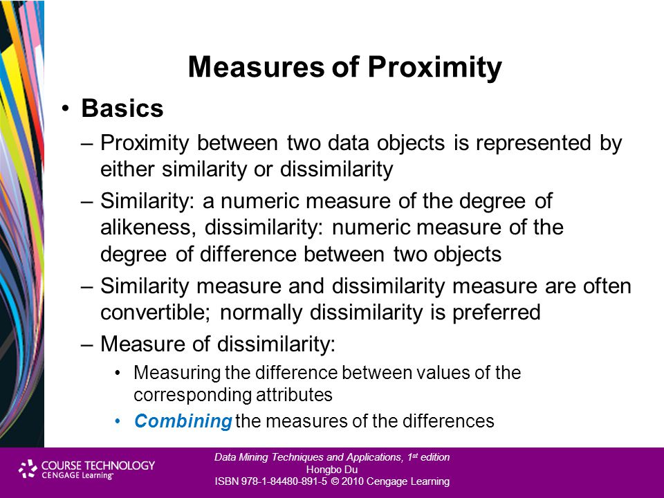 Measures of Proximity Basics