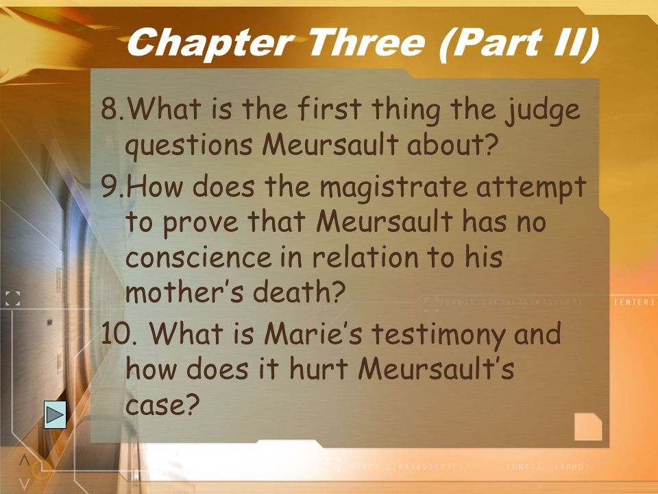 Chapter Three (Part II)