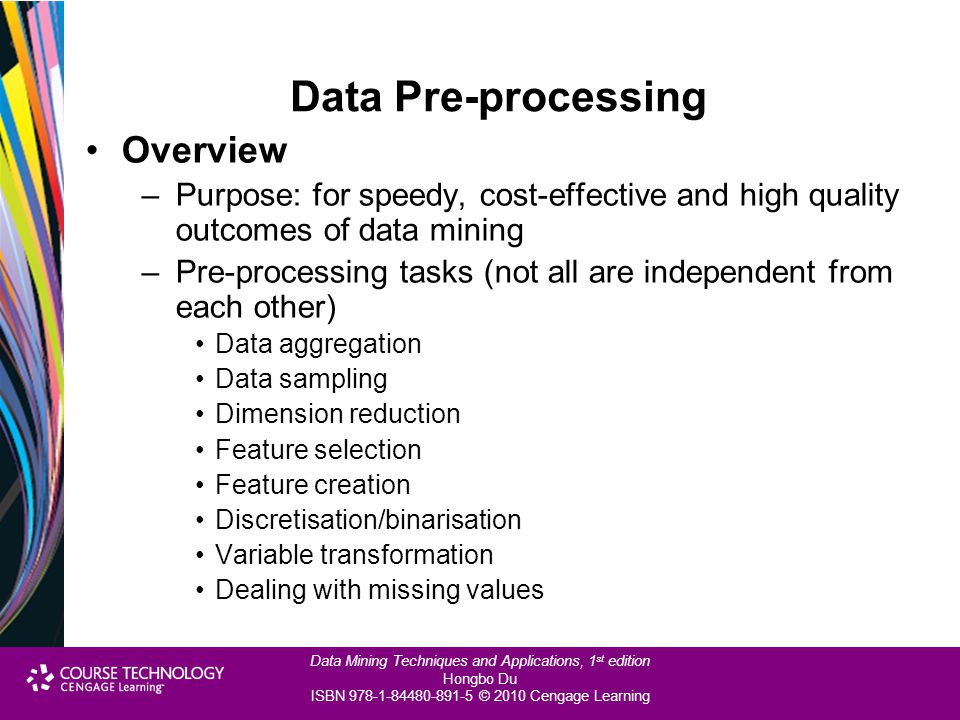 Data Pre-processing Overview