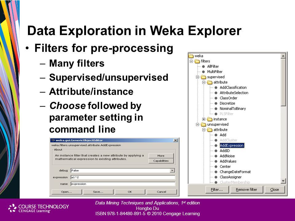 Data Exploration in Weka Explorer