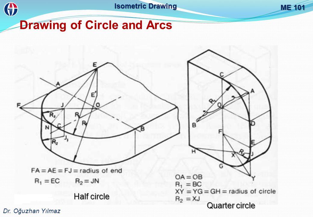 Drawing of Circle and Arcs