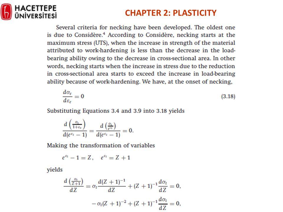 CHAPTER 2: PLASTICITY