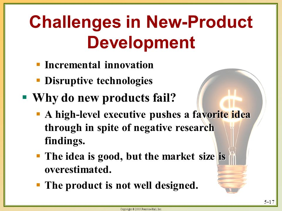 Challenges in New-Product Development