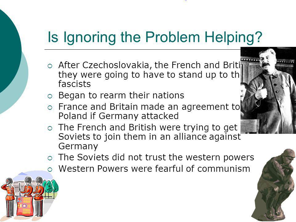 Is Ignoring the Problem Helping