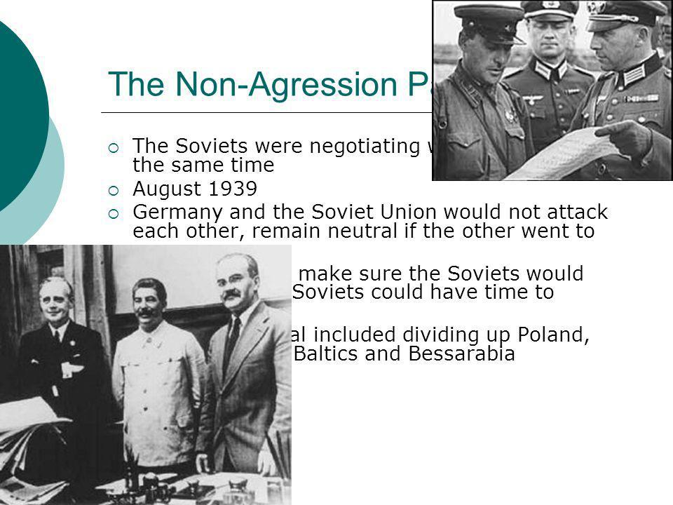 The Non-Agression Pact
