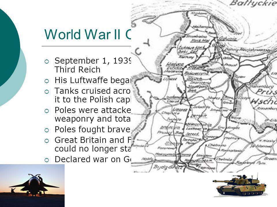 World War II Officially begins