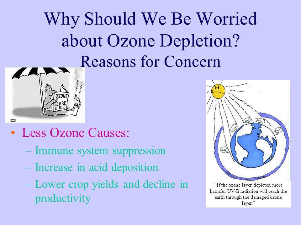 Why Should We Be Worried about Ozone Depletion Reasons for Concern