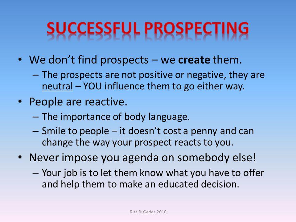 Successful Prospecting